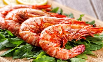 Tris di antipasti e grigliata di pesce a Venezia