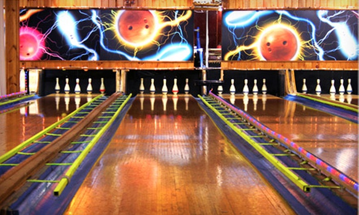 PinbusterZ Family Fun Center - Rose Bowl: Bowling for 2 or 5 with Arcade Credits, or Birthday Party for Up to 11 at PinbusterZ Family Fun Center (Up to 69% Off)