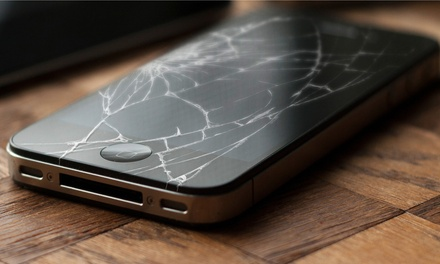 iPhone, iPad, or Samsung Screen Repair at Cell Phone Repair Guyz (Up to 55% Off). Eight Options Available.