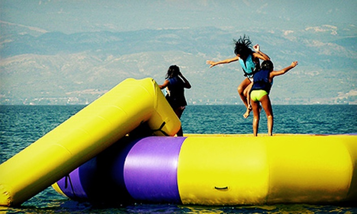Aloha Watersports - Barrier Island: 30-Minute Water-Trampoline Rental for 5 or 10 at Aloha Watersports (Up to 65% Off)