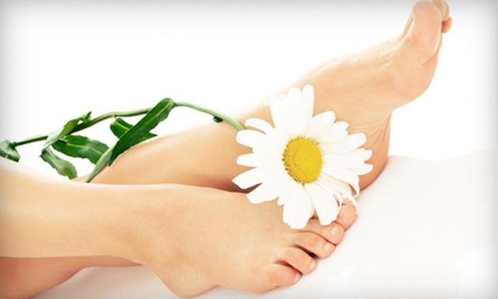 Advanced Foot & Ankle Clinic - Multiple Locations: Laser Toenail-Fungus Removal for One or Both Feet at Advanced Foot and Ankle Clinics (Up to 75% Off)