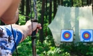 Bogenspass: 3 Std. Bogenschießen-Erlebniskurs für 1, 2, 4 oder 6 Personen bei Bogenspass (bis zu 61% sparen*)