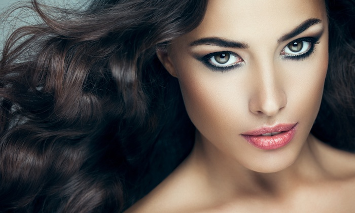 Salon Centre - Salon Centre: Haircut, Partial Color or Root Touch-up, and Brazilian Blowout Services at Salon Centre (Up to 65% Off)