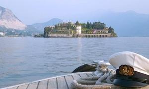 Stresa Tour: Tour del Golfo Borromeo e sosta all'Isola dei Pescatori o delle ville sul lago con visita di Santa Caterina del Sasso