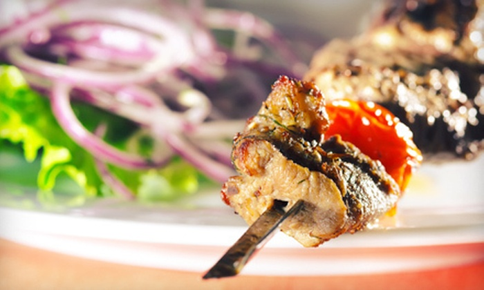 Taverna Yiamas - Parkside: Mediterranean Cuisine for Dinner or Lunch at Taverna Yiamas (Half Off)