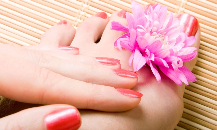 Blades of Columbia Salon & Day Spa - West Columbia: One or Two Groupons, Each Good for a Mani-Pedi at Blades of Columbia Salon & Day Spa (Up to 55% Off)