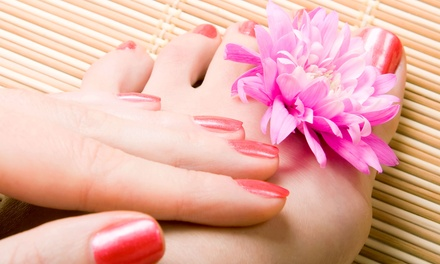 One or Two Groupons, Each Good for a Mani-Pedi at Blades of Columbia Salon & Day Spa (Up to 55% Off)