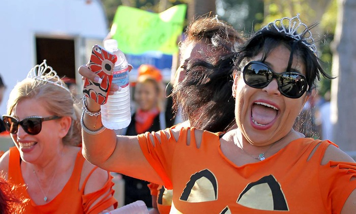 Alhambra Pumpkin Run - Alhambra Park: Entries to the Alhambra 5K or 10K Pumpkin Run (Up to 50% Off). Six Options Available.
