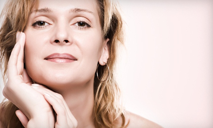 Arkansas Anti-Aging - Downtown: Four Skin-Tightening Treatments for the Neck, Face, or Both at Arkansas Anti-Aging (Up to 72% Off)