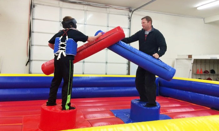 Swatters - Hillyard: Jousting for Two or Four or Birthday Party Package for 10 at Swatters (Up to 50% Off)