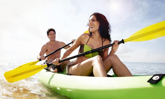 Joe Rugs Water Adventures - Ponchartrain Park: Four- or Eight-Hour Kayak Rental from Joe Rugs Water Adventures (Up to 52% Off)