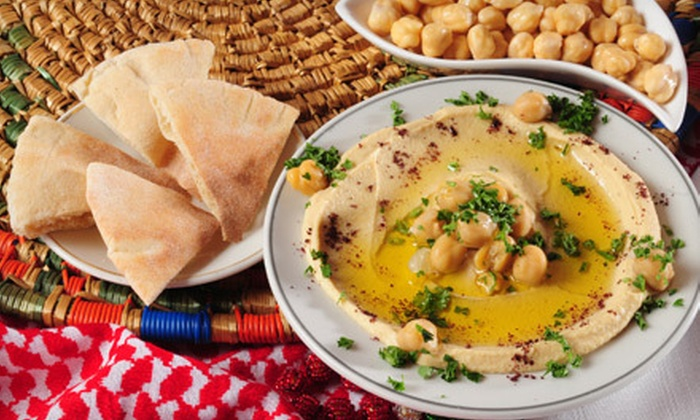 Cafe Greek - McShann Estates: Greek Fare at Cafe Greek (Half Off). Two Options Available.