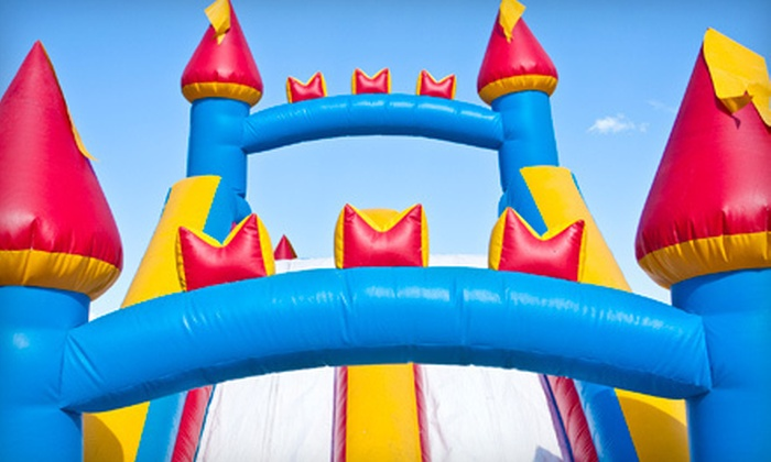 Bounce Your Heart Out - Dallas: Eight-Hour Bounce-House Rental from Bounce Your Heart Out (Up to 60% Off)
