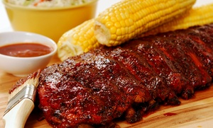 Hickory Sticks BBQ: $15 for $30 Worth of Barbecue at Hickory Sticks BBQ