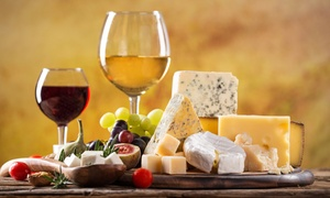 The International House of Wine and Cheese and The American Cafe: Wine and Cheese at The International House of Wine and Cheese and The American Cafe (Up to 55% Off)