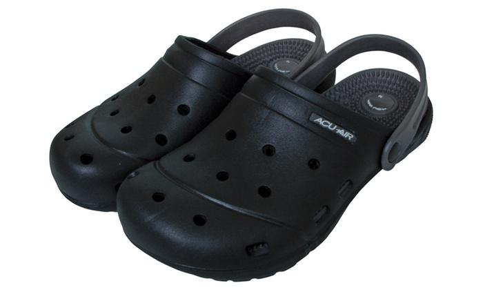 68902d47813c  9.99 for Men s Acu Air Black-Gray Sandals