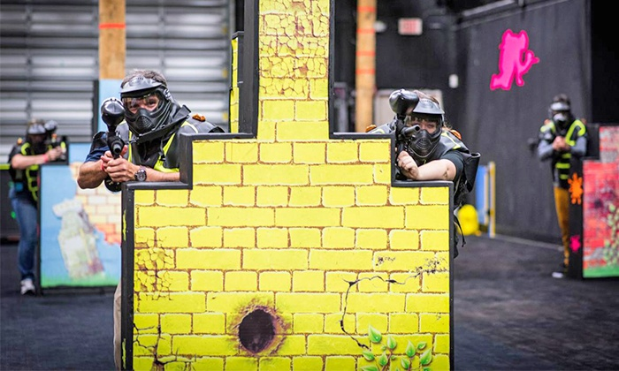 Planet Air Sports - Deerfield Beach: Paintless Paintball Package for Two, Four, or Six at Planet Air Sports (Up to 54% Off)