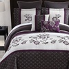 Embroidered Floral Inspiration Comforter Set (8-Piece)