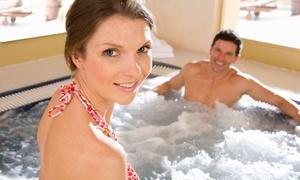 Accès au sauna et bain à remous avec cocktail Gréasque