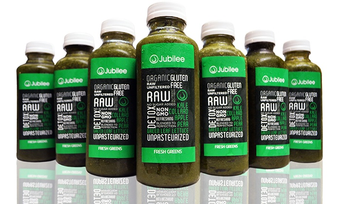 Jubilee Juices: Two- or Four-Week Grab and Go Juice Delivery from Jubilee Juices (50% Off)