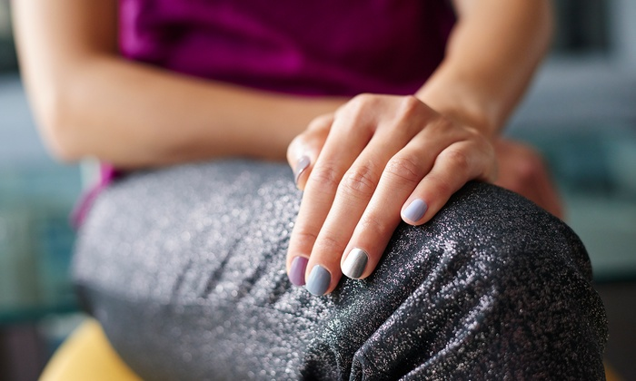 Smash Salon - Kate Pfeifle - Northview: Shellac Manicure, Haircut Package, or Brazilian Blowout from Kate Pfeifle at Smash Salon (Up to 52% Off)