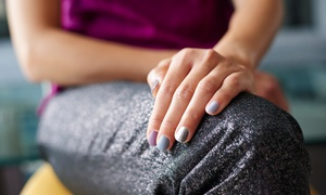 The Peter's Hair Studio: Deluxe Pedicure with Gel Overlay from R182 with Optional Manicure at The Peter's Hair Studio (Up to 70% Off)
