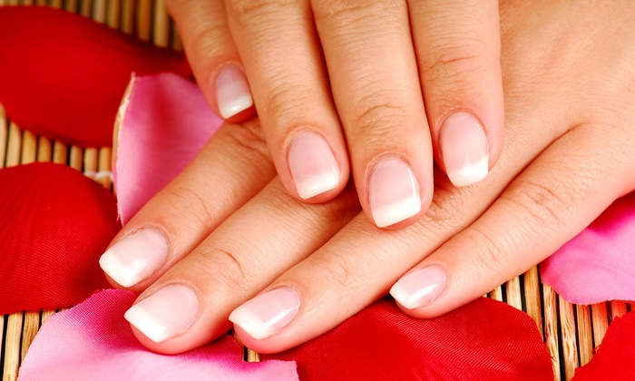 Chiffon - Solvang: One or Two Jet-Setter Mani-Pedis or Two Moulin Rouge Pedicures at Chiffon (Up to 51% Off)