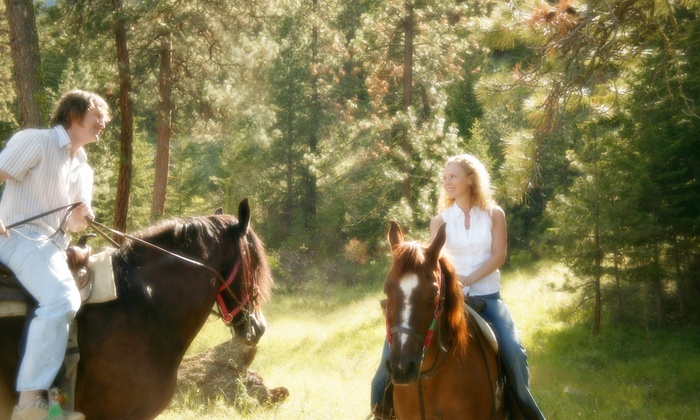 Cactus Jack's Trail Rides - Multiple Locations: 90-Minute Trail Ride on Horseback for Two or Four from Cactus Jack's Trail Rides (46% Off)