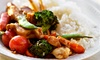 Chef Express - Saskatoon: Pizza and Asian Cuisine for Two or Four at Chef Express (50% Off)