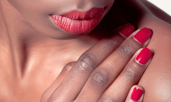 Lenox Nails - Crystal City Shops: Shellac Manicure or Milk and Honey Relaxation Pedicure at Lenox Nails (Up to 52% Off)