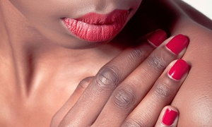 Lenox Nails: Shellac Manicure or Milk and Honey Relaxation Pedicure at Lenox Nails (Up to 52% Off)