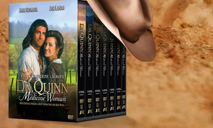 Dr Quinn Medicine Woman On Dvd Groupon Goods