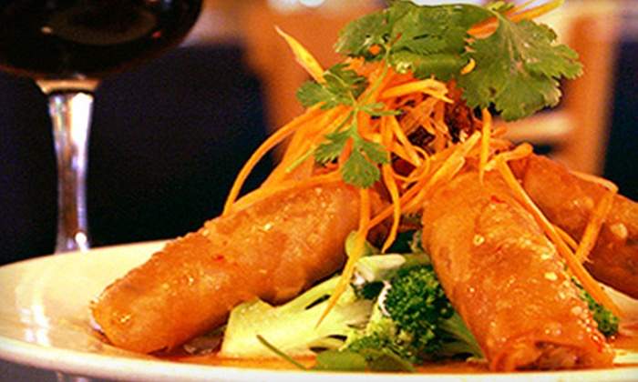 Thai Passion - Multiple Locations: Thai Food at Thai Passion (Half Off). Two Options Available.