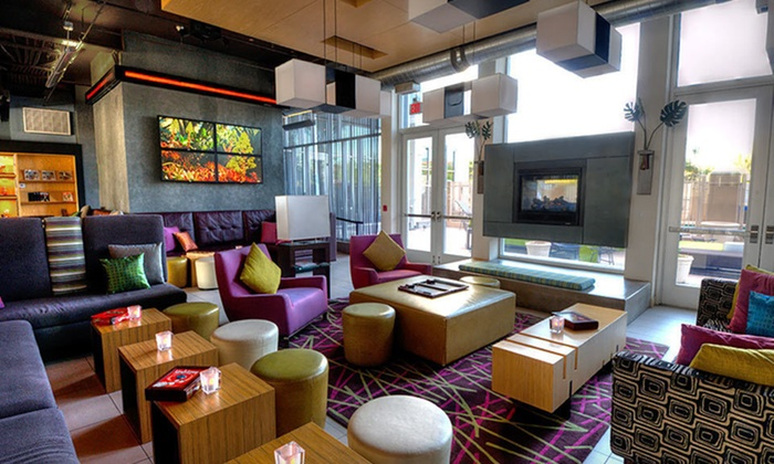 Aloft Phoenix-Airport - Tovrea,Downtown Phoenix: One-Night Stay with Breakfast and Drinks at Aloft Phoenix-Airport in Phoenix