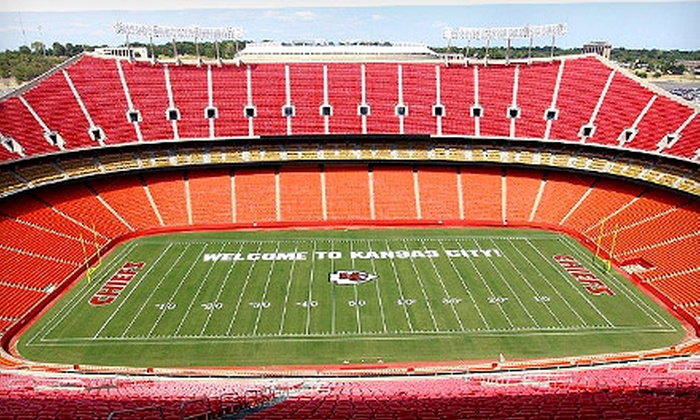 Chiefs 5K Run - Arrowhead Stadium: One, Three, or Five Entries for Chiefs 5K Run on Saturday, May 18 (Up to 56% Off)