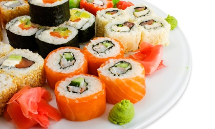 Sushi Rolls for Two, or Japanese Meals with Sushi, Entrees, and Wine at Capri Sushi and Italian (Up to 51% Off)