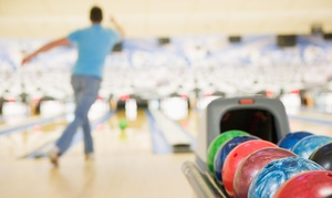 Up to 65% Off Bowling with Shoes at NRV Superbowl