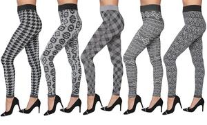 Womens Hacci-Knit Leggings Groupon Goods
