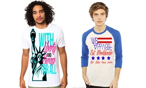 William Boston Apparel: Tees, Joggers, and Other Clothing at William Boston Apparel (50% Off). Two Options Available.
