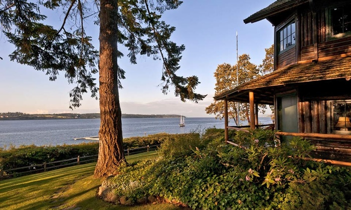 The Captain Whidbey Inn - Whidbey Island, WA: 2-Night Stay for Two with Dining Credit at The Captain Whidbey Inn on Whidbey Island, WA