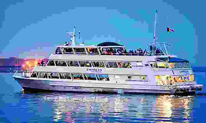 Empress of Canada - Port Lands: Casual or Ultimate Dinner Cruise on the Empress of Canada (Up to 52% Off)
