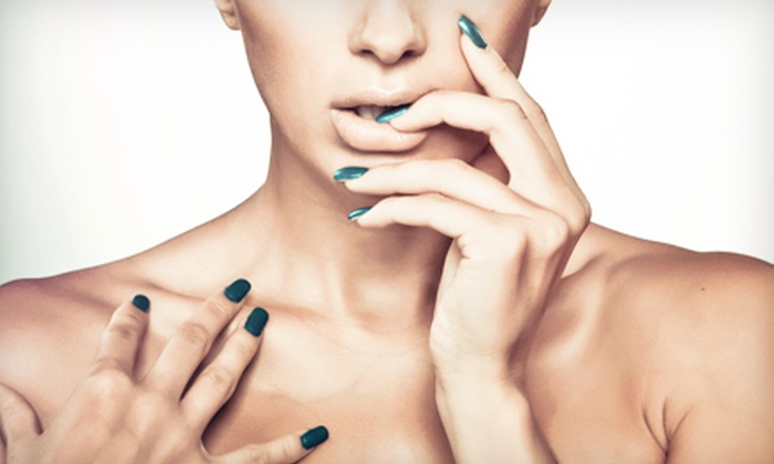 Salon & Spa Dalia - Belmont: One or Two No-Chip Manicures at Salon & Spa Dalia in Hinsdale (Up to 51% Off)