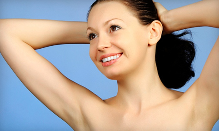 Total Med Solutions, LLC - Multiple Locations: Six Laser Hair-Removal Sessions for Two Small, Medium, or Large Areas at Total Med Solutions, LLC (Up to 87% Off)