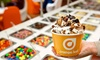 Frozen Yogurt at Orange Leaf