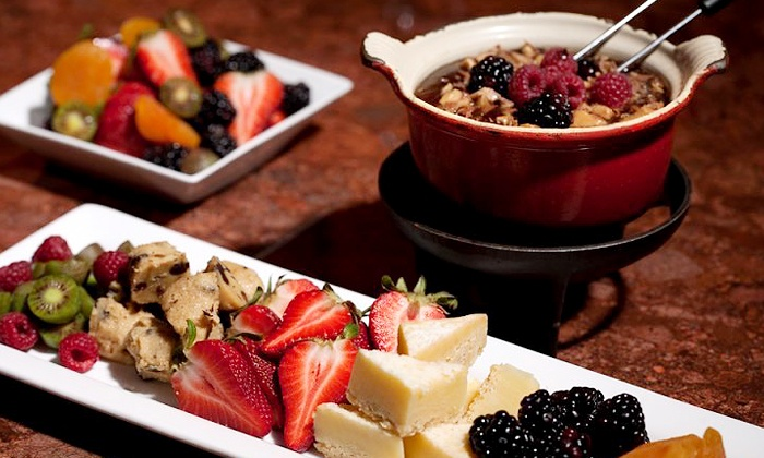 Urban Fondue - Northwest District: Three-Course Fondue Experience for Two or Four with Dessert at Urban Fondue (39% Off)