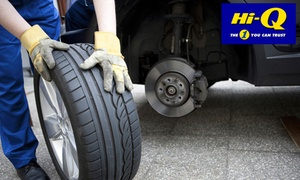 Hi-Q (Green Acres): 3D Wheel Alignment and Balancing from R228 at Hi-Q Green Acres (40% Off)