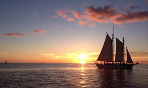 Sunset Sail Key West: $175 for 90-Minute Harbor Day Sailing Tour for Up to Six from Sunset Sail Key West ($294 Value)