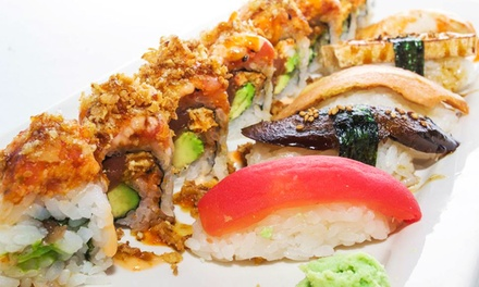 $18 for Three Groupons, Each Good for $10 Toward Vegan Sushi at Nu Asia Vegan ($30 Value)