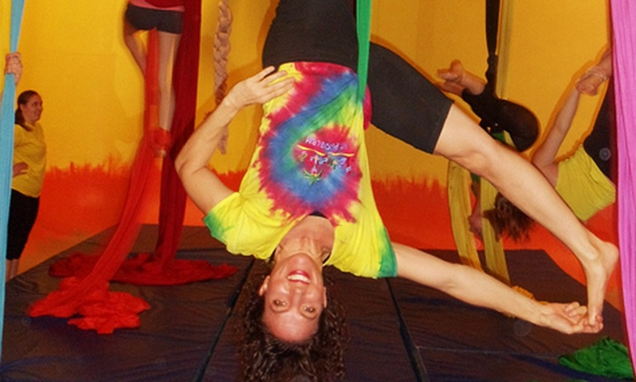 Learning2Fly - Mission: Two Aerial Fitness Classes for Kids or Teens, or Three Aerial Fitness Classes at Learning2Fly (Up to 52% Off)
