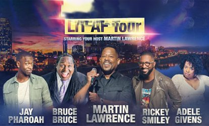 image for LIT AF TOUR Starring your Host Martin Lawrence on Friday, June 15, at 7:30 p.m.